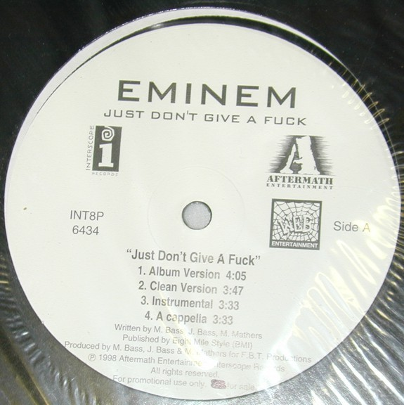 Eminem just don t give a fuck galleries 20